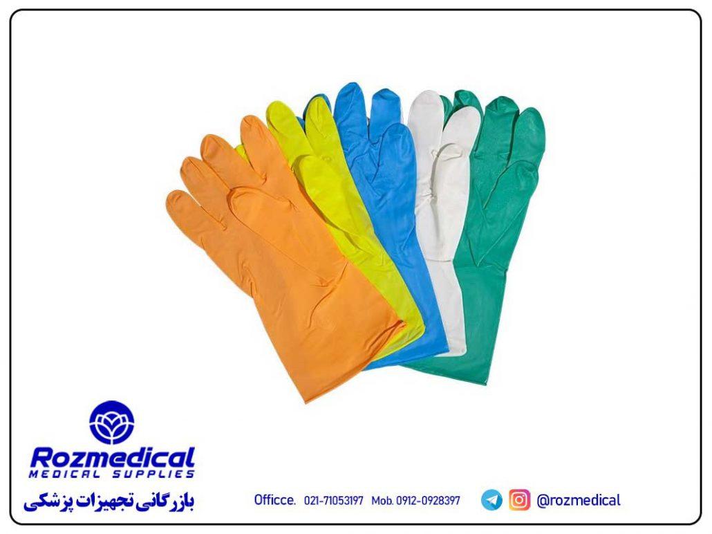 تولید دستکشهای یکبار مصرف