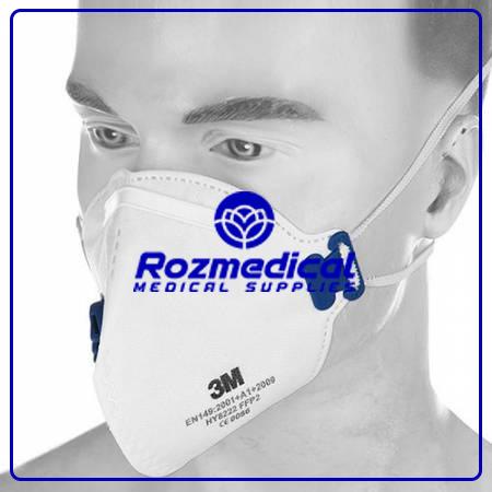 ماسک فیلتردار 3m